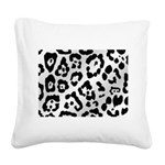Animal Print Square Canvas Pillow
