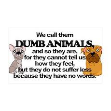 Dumb Animals Wall Decal