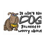 dogworry2.png 35x21 Wall Decal