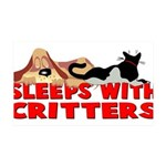 critters.png 35x21 Wall Decal