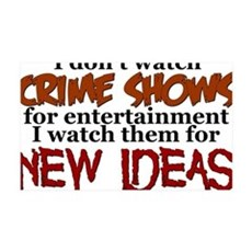 Crime Shows Wall Decal