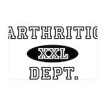 ARTHRITIC Dept. 35x21 Wall Decal