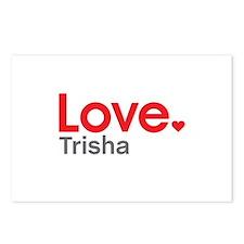 Love Trisha Postcards (Package of 8)