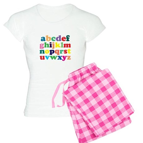 Colorful Alphabet Pajamas