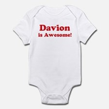Davion is Awesome Infant Bodysuit