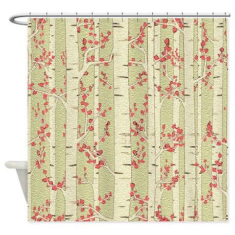 Bathroom gifts bathroom bathroom d 233 cor birch trees shower curtain