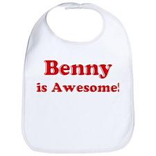 Benny is Awesome Bib