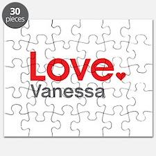 Love Vanessa Puzzle