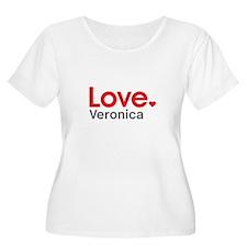 Love Veronica Plus Size T-Shirt