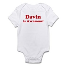 Davin is Awesome Onesie