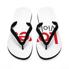Love Viola Flip Flops