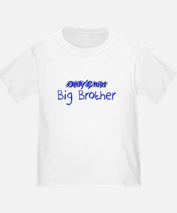 Big Brother Blue Letters T