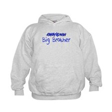 Big Brother Blue Letters Hoody