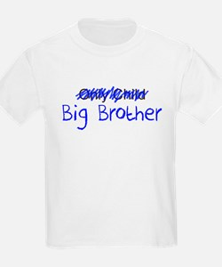 Big Brother Blue Letters T-Shirt