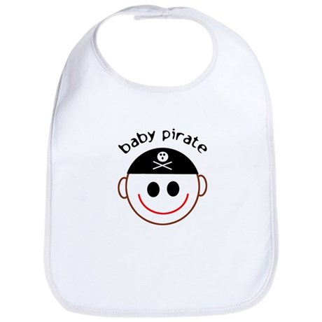 Baby Pirate Captain Bib