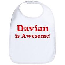 Davian is Awesome Bib