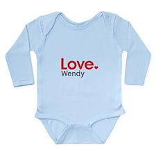 Love Wendy Body Suit