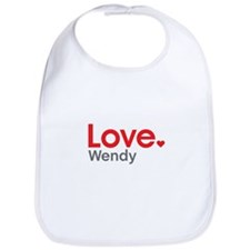 Love Wendy Bib