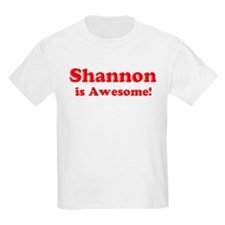 Shannon is Awesome Kids T-Shirt