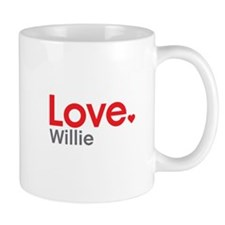 Love Willie Mug