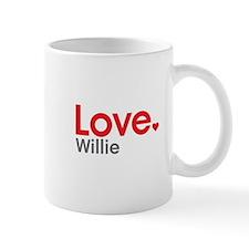 Love Willie Small Mugs