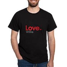 Love Willie T-Shirt