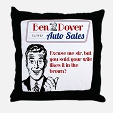 Funny Used Car Sales Like It In The Brown Throw Pi