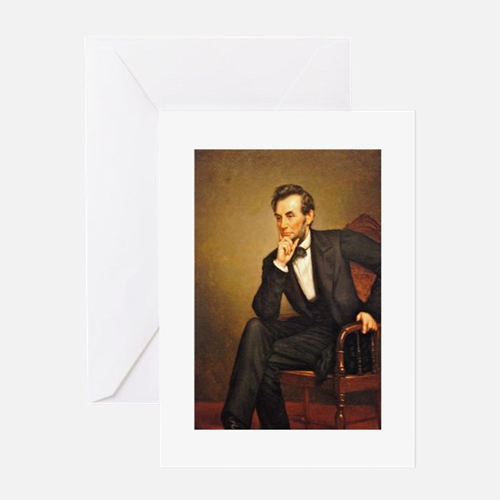 Young Abraham Lincoln Greeting Card