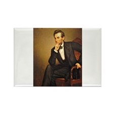Young Abraham Lincoln Rectangle Magnet