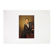 Young Abraham Lincoln 5'x7'Area Rug
