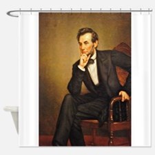 Young Abraham Lincoln Shower Curtain