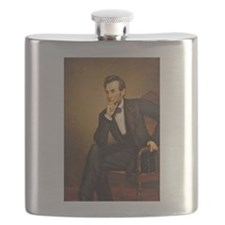 Young Abraham Lincoln Flask