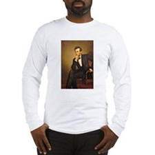 Young Abraham Lincoln Long Sleeve T-Shirt
