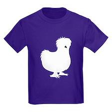 Silkie Chicken Kids T-Shirt