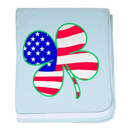 Irish American baby blanket