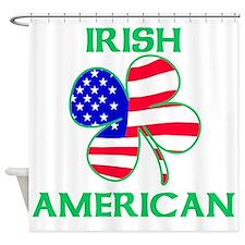 Irish American Shower Curtain