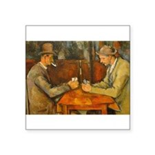 Famous Paintings: The Card Players Sticker