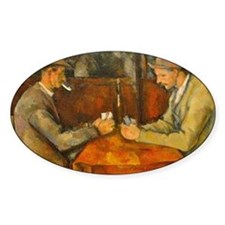 Famous Paintings: The Card Players Decal
