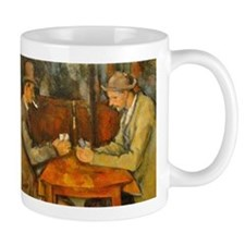 Famous Paintings: The Card Players Mug