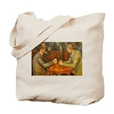 Famous Paintings: The Card Players Tote Bag