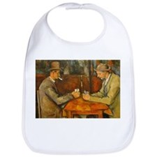 Famous Paintings: The Card Players Bib