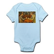Famous Paintings: The Card Players Body Suit