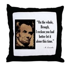 On the Whole, Brough Throw Pillow