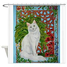 Snowis Garden Shower Curtain