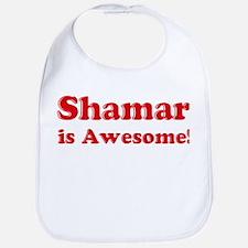 Shamar is Awesome Bib