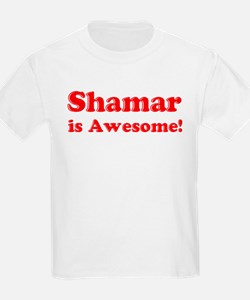 Shamar is Awesome Kids T-Shirt