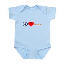 Peace, Love, Rescue Body Suit