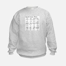 Beautiful (math) dance moves Sweatshirt