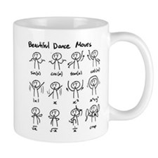 Beautiful (math) dance moves Mug