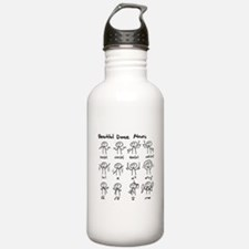 Beautiful (math) dance moves Water Bottle